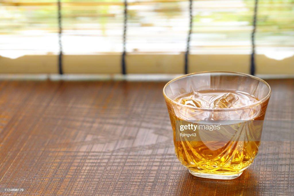 barley tea : Stock Photo