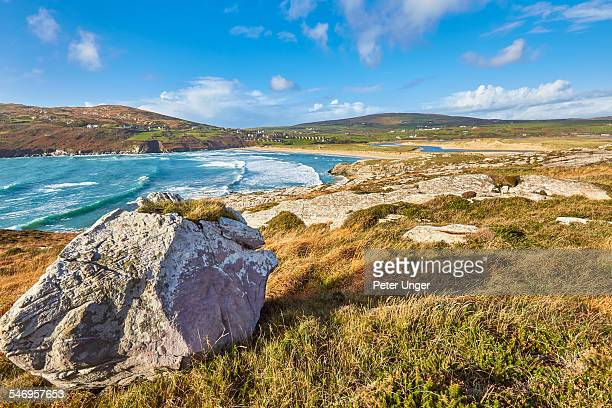 barleycove beach, county cork, ireland - county cork stock pictures, royalty-free photos & images