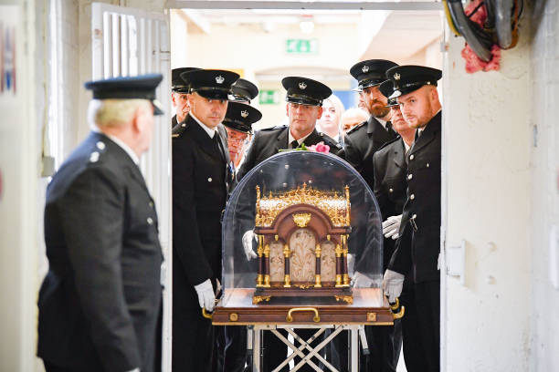 GBR: Relics Of St. Therese Of Lisieux Visit Barlinnie Prison