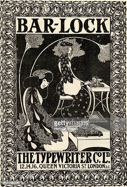 BarLock The Typewriter Co Ltd London c1895