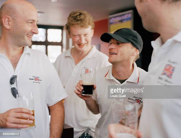 'Barmy Army' fans drinking in local pub whilst rain stops play When the Ashes took place in 2005 two surprising things happened England won for the...