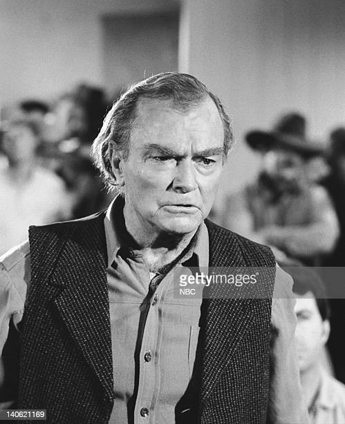 PRAIRIE Barn Burner Episodie 20 Aired 2/19/79 Pictured Don 'Red' Barry as Jud Larrabee Photo by Ted Shepherd/NBCU Photo Bank