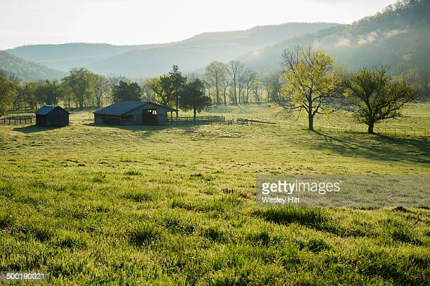 Barn in the Ozark Mountains of Arkansas