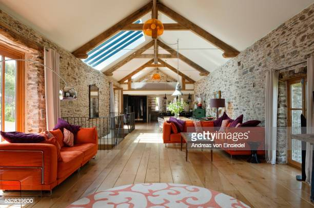 barn modern conversion - image stock pictures, royalty-free photos & images