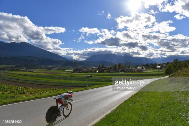 Barnabas Peak of Hungary / Landscape / clouqduring the Individual Time Trial Men Under 23 a 27,8km race from Wattens to Innsbruck 582m at the 91st...