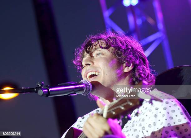 Barnaby George Barns Courtney performs onstage during the 2017 Summer Concert Series held at The Grove on July 5 2017 in Los Angeles California