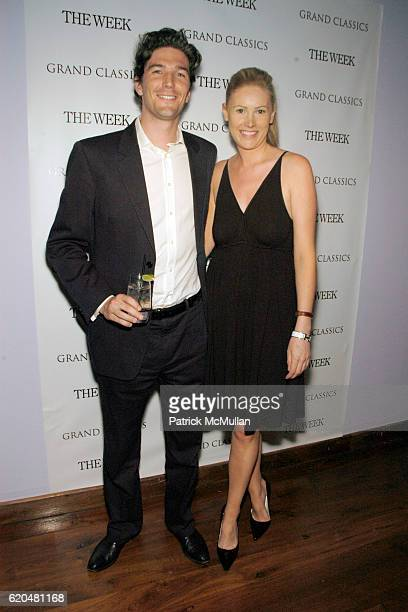 Barnaby Hall and Emma ShillingLaw attend GRAND CLASSICS hosted by Gabriel Byrne sponsored by THE WEEK to benefit FilmAid International at Soho House...