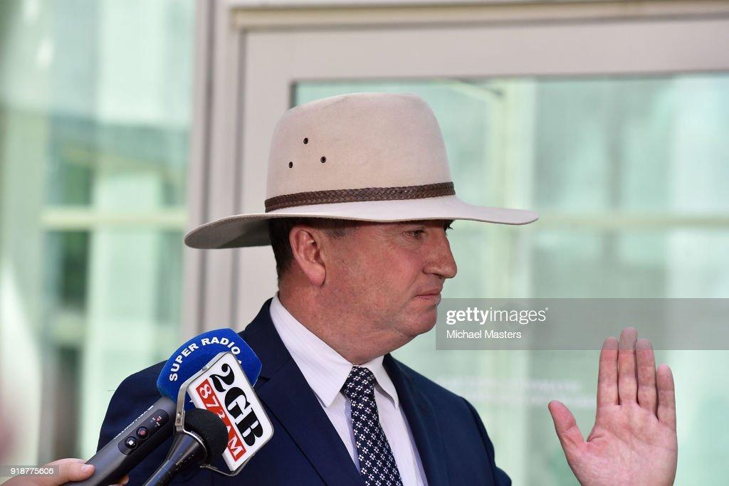 Deputy Prime Minister Barnaby Joyce Press Conference