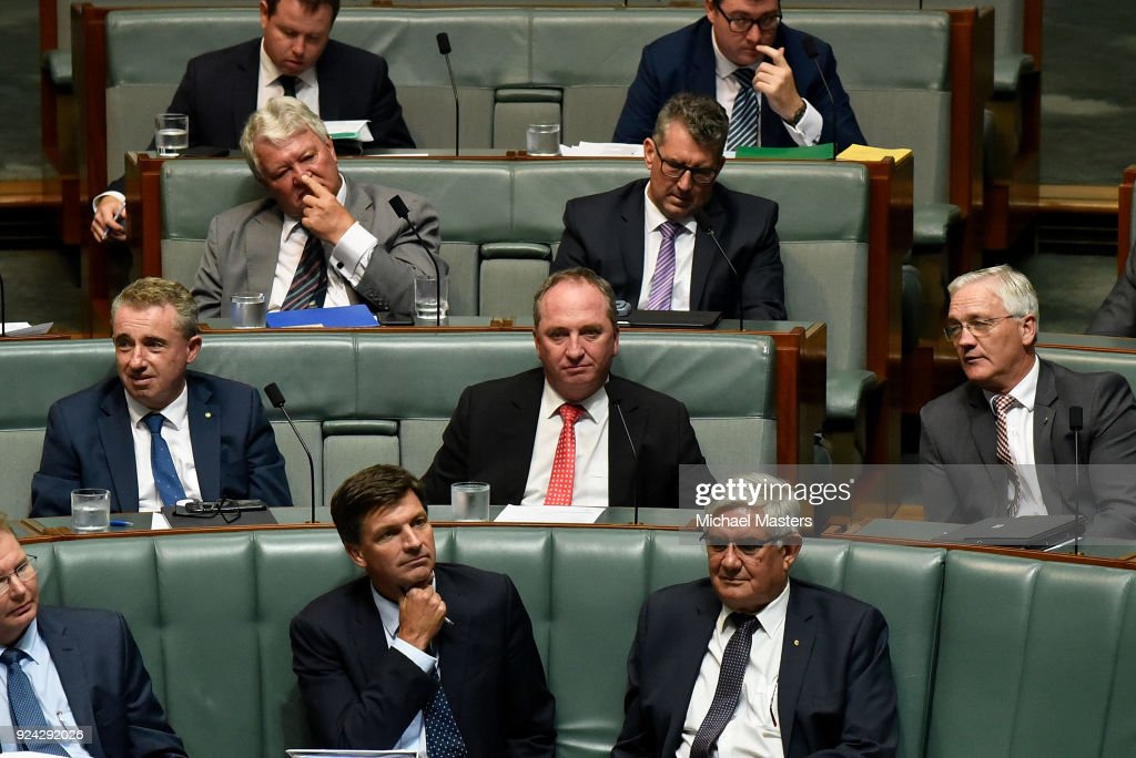 Question Time In House of Representatives