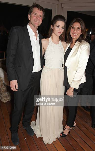 Barnaby Thompson Talulah Riley and Gina Bellman attend as Charles Finch hosts his annual Filmmakers Dinner and photographic exhibition in celebration...