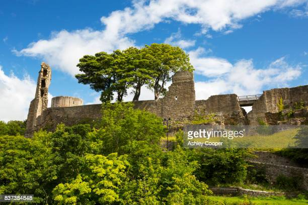 barnard castle, county durham, uk. - barnard castle stock pictures, royalty-free photos & images