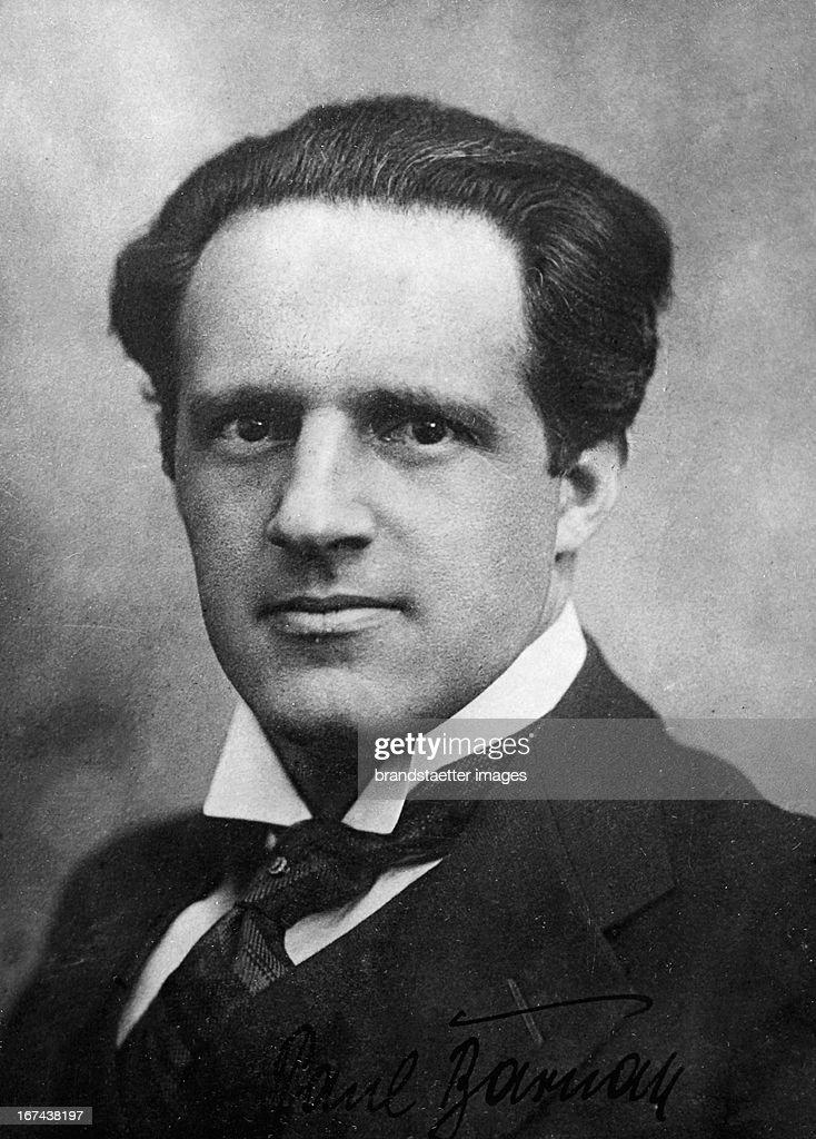 Barnay Paul (1884-1960); Austrian theater director and writer. About 1930. Photograph. (Photo by Imagno/Getty Images) Paul Barnay (18841960); österreichischer Theaterdirektor und Schriftsteller. Um 1930. Photographie.