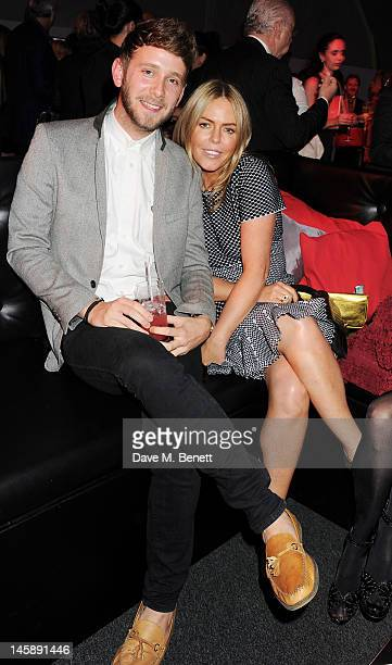 Barney Addison and Patsy Kensit attend Gabrielle's Gala the inaugural fundraiser hosted by Denise Rich in aid of Gabrielle's Angel Foundation for...