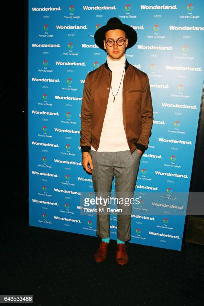 Barney Banks attends the Wonderland Magazine x Google Pixel party at Tramp on February 21 2017 in London England