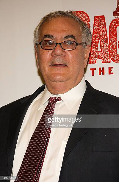 Barney Frank attends the Broadway opening of Rag Time at the Neil Simon Theatre on November 15 2009 in New York City