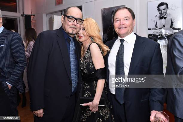 Barney Page Elizabeth Segerstrom and Kevin Dornan attend the New York Premiere and Celebration of Documentary Film 'Henry T Segerstrom Imagining The...