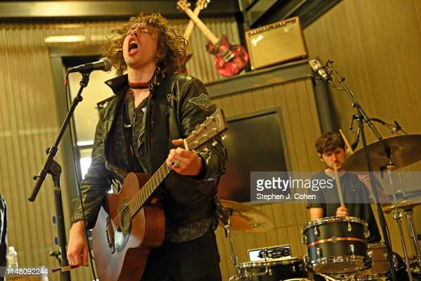 Barns Courtney performs at the Jim Beam Stillhouse at Jim Beam Distillery on May 09 2019 in Clermont Kentucky