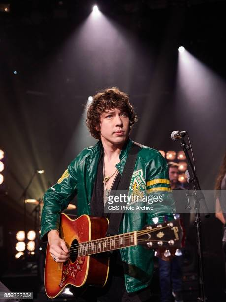 Barns Courtney performs during The Late Late Show with James Corden Thursday September 28 2017 On The CBS Television Network