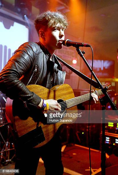 Barns Courtney performs onstage at the NME/ UK Trade Investment music showcase during the 2016 SXSW Music Film Interactive Festival at Latitude 30 on...
