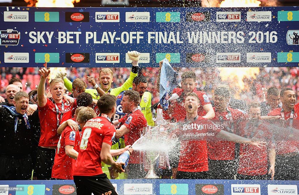 Barnsley v Millwall - Sky Bet League One Play Off Final : News Photo