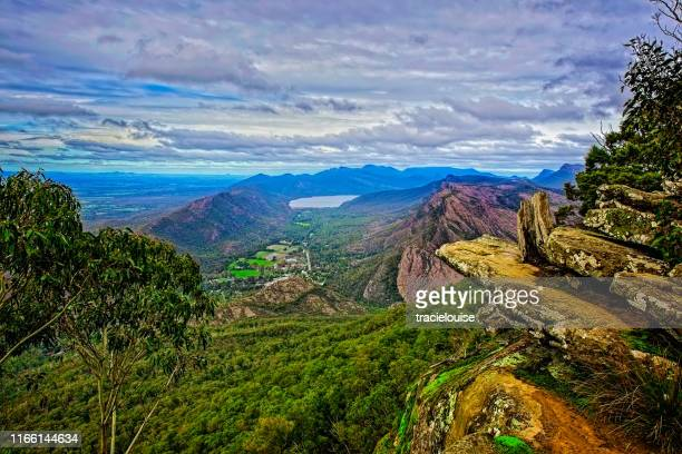 baroka lookout in the grampians - victoria australia stock pictures, royalty-free photos & images
