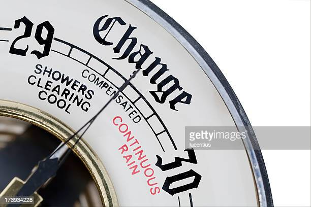Baromètre comme métaphore de modification