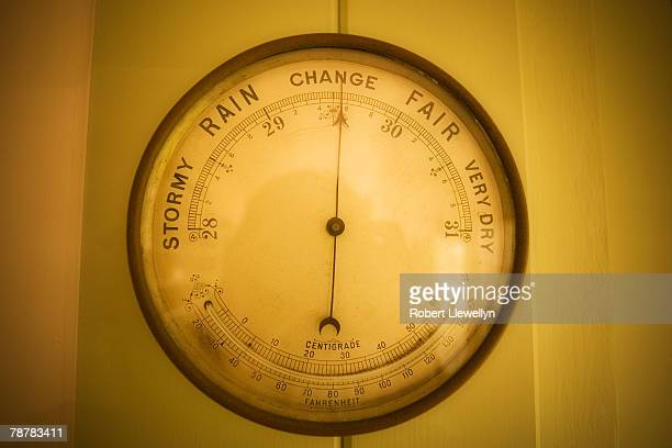 Barometer Indicating a Change in Weather