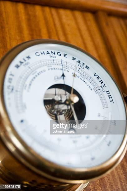 Barometer on boat