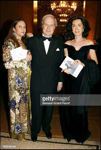 Baron and Baron David De Rothschild and Madame Bernard Lanvin at Gala Performance Of Don Giovanni at Opera Garnier In Paris In Aid Of L'Arop