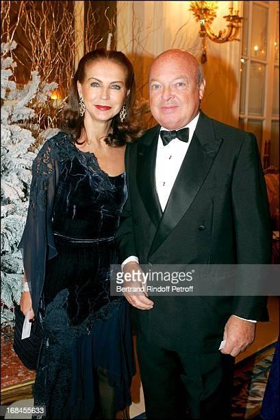 Baron and Baroness Emmanuel Reille at SaintNicolas Party For L'Envol