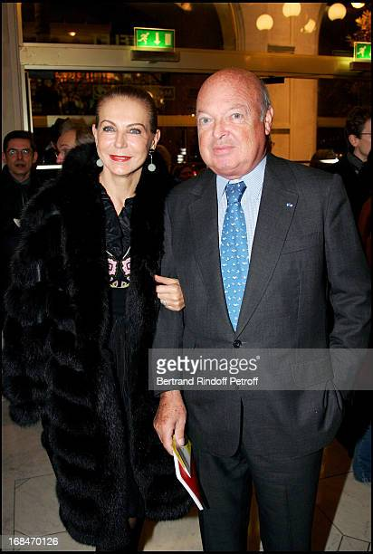Baron and Baroness Emmanuel Reille Comic Operetta representation Candide at the Chatelet to the benefit of Katarin and the French district of the New...