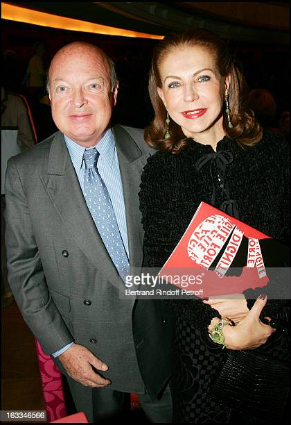 Baron and Baronne Emmanuel Reille at the 12th Gala Performance Musique Contre L' Oubli In Aid Of Amnesty International At Theatre Champs Elysees In...