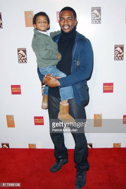 Baron Bellamy and Bill Bellamy attend LA Zoo Elephants of Asia Under the Stars at Los Angeles Zoo on December 15 2010 in Los Angeles California