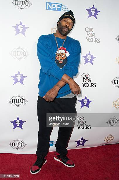 Baron Davis arrives at the 9th Annual Manifest Your Destiny Toy Drive and Fundraiser on December 5 2016 in Los Angeles California
