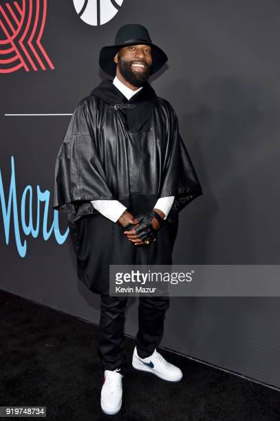 Baron Davis attends GQ's 2018 AllStars Celebration at Nomad Hotel Los Angeles on February 17 2018 in Los Angeles California