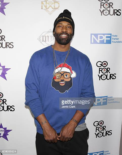 Baron Davis attends the 9th Annual Manifest Your Destiny Toy Drive And Fundraiser on December 5 2016 in Hollywood California
