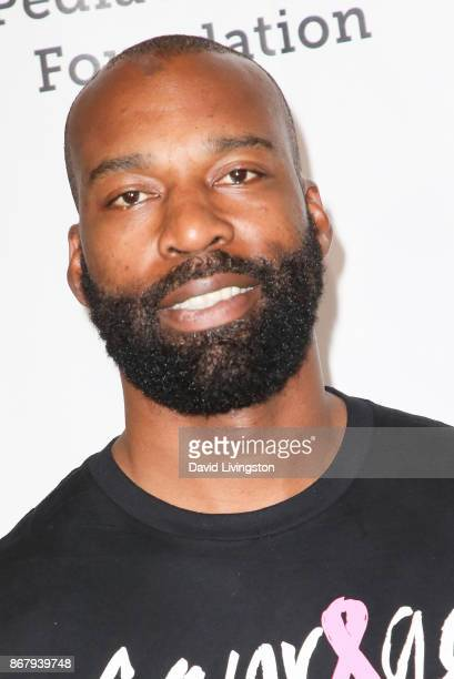 Baron Davis attends the Elizabeth Glaser Pediatric AIDS Foundation's 28th Annual 'A Time For Heroes' Family Festival at Smashbox Studios on October...