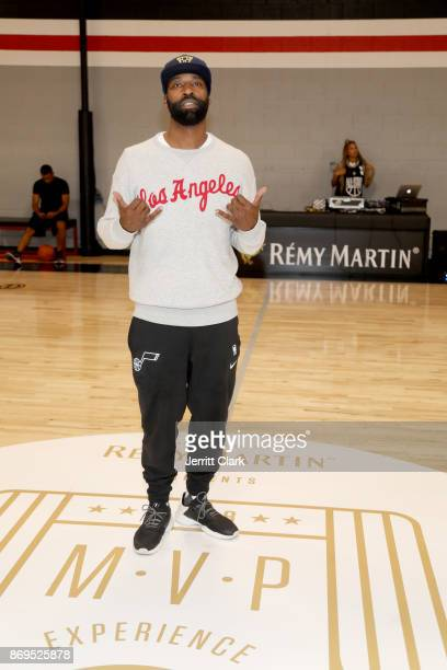 Baron Davis attends The Launch of The House Of Remy Martin MVP Experience at Shoot 360 on November 2 2017 in Torrance California