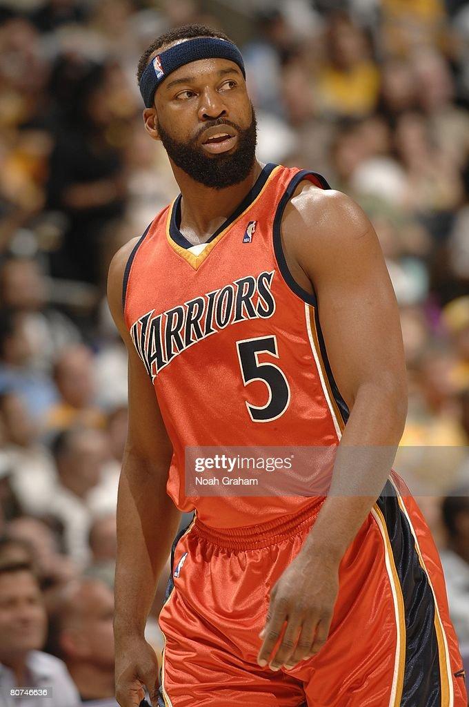 Baron Davis Warriors Orange