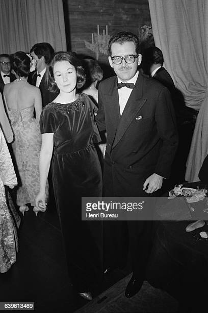 Baron Edmond Adolphe de Rothschild and his wife Nadine Lhopitalier.
