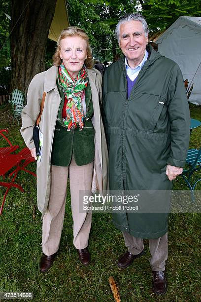 Baron ErnestAntoine Seilliere and wife Baroness Antoinette Seilliere attend the Days of Plants 2015 From Courson To Chantilly Held at Chateau de...
