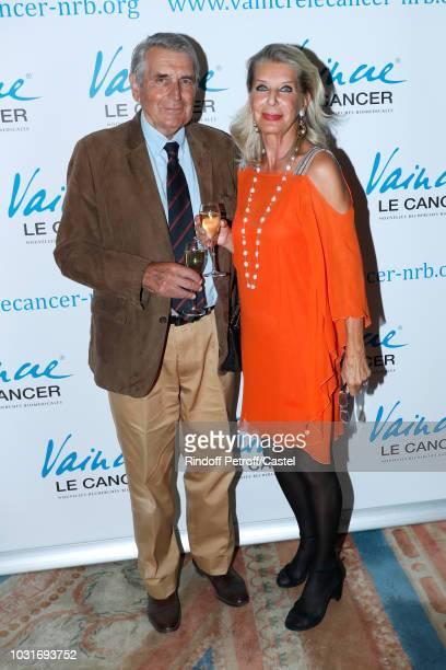 Baron Gilles Ameil and his wife Baroness Eva Ameil attend the 'Vaincre Le Cancer' Benefit Party at Cercle de l'Union Interalliee on September 11 2018...