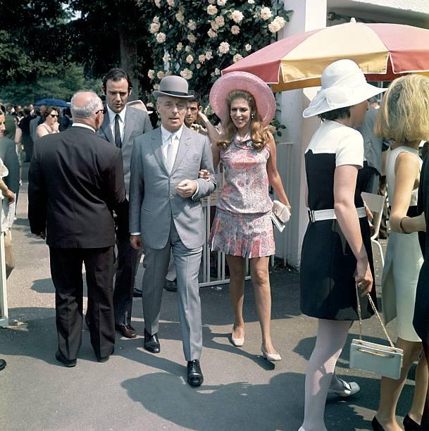 Baron Guy De Rothschild And His Wife Helene, 1970