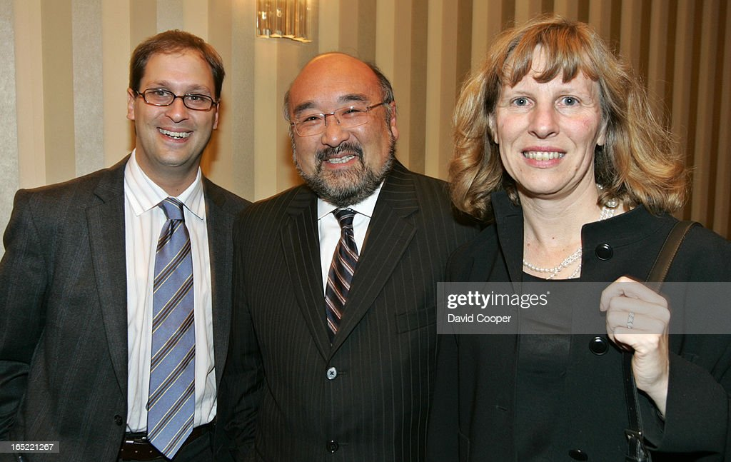 Baron Manett Of Segal Communications ,David Tsubouchi, Former Ontario  Cabinet Minister, And Lynne
