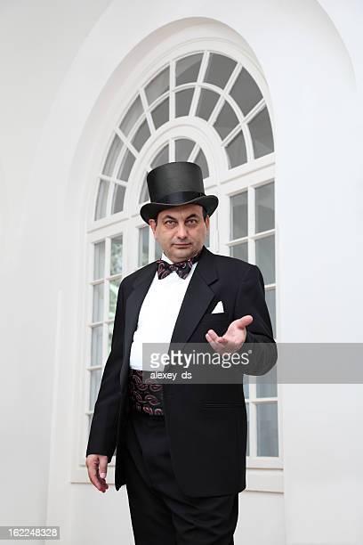 Baron near the window