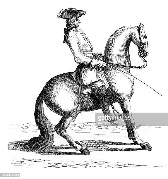 Baron of Eisenberg The Baron demonstrates the perfect procedure for stopping a horse