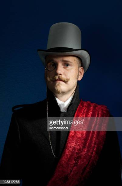 baron - top hat stock pictures, royalty-free photos & images