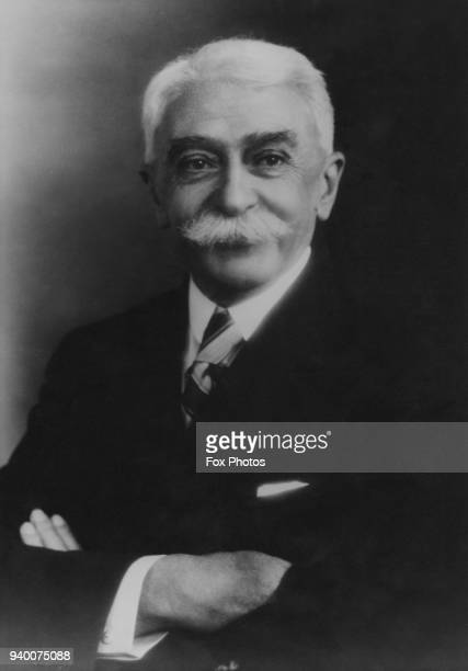 Baron Pierre de Coubertin , founder of the International Olympic Committee, circa 1925.