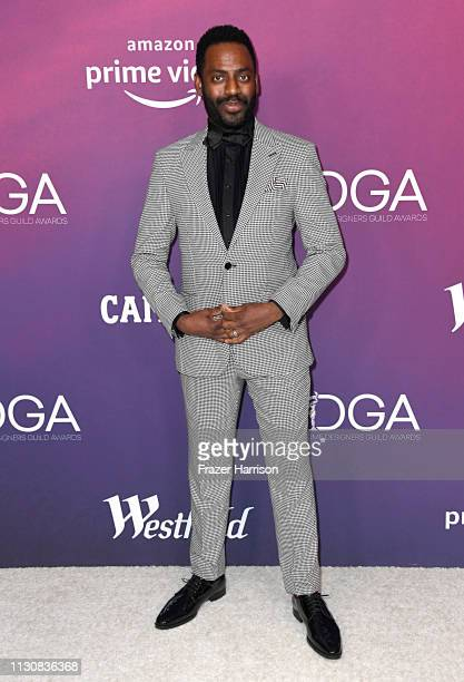 Baron Vaughn attends The 21st CDGA at The Beverly Hilton Hotel on February 19 2019 in Beverly Hills California