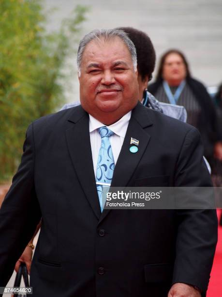 Baron Waqa President of Nauru arriving to the United Nations Framework Convention on Climate Change UNFCCC COP23